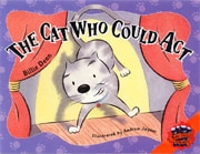 Book cover for The Cat Who Could Act by Billie Dean