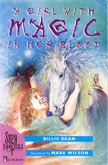 Book cover for A Girl with Magic in her Blood by Billie Dean