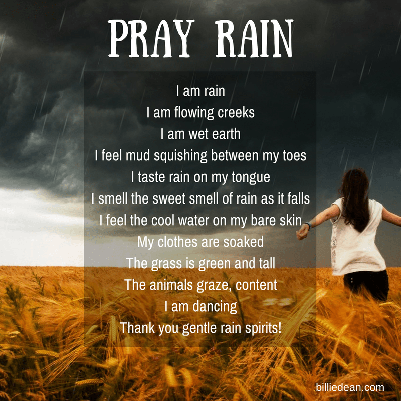 How to Pray Rain